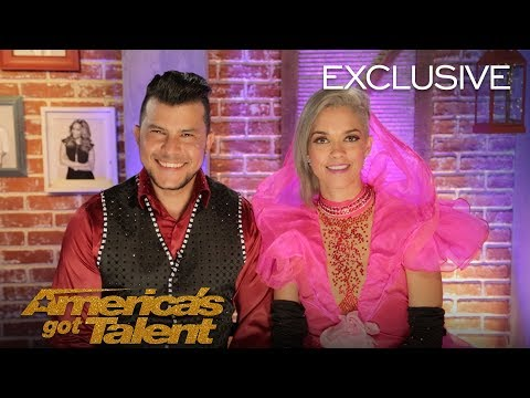 Quick Change Act Sixto and Lucia Changed 9 times in 90 seconds - America's Got Talent 2018