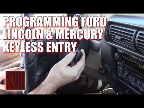 Program Ford Explorer Keyless Remote Key FOB 1993-2001