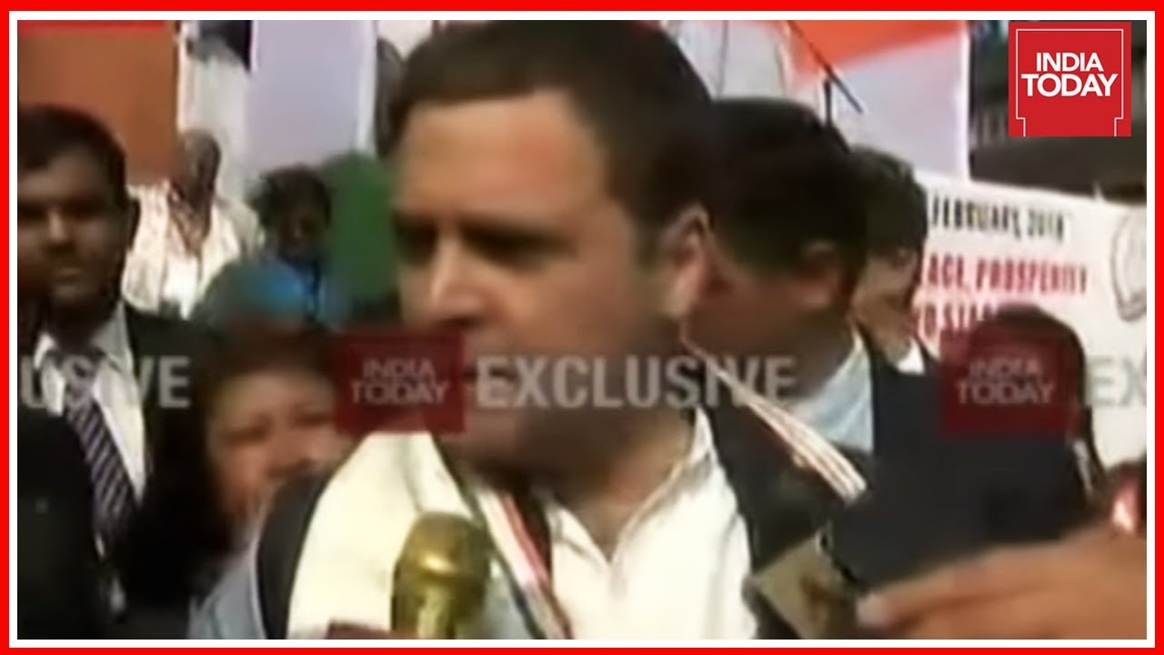 Exclusive : Rahul Gandhi's Sharpest Attack On PM Modi Over His Silence In PNB Scam