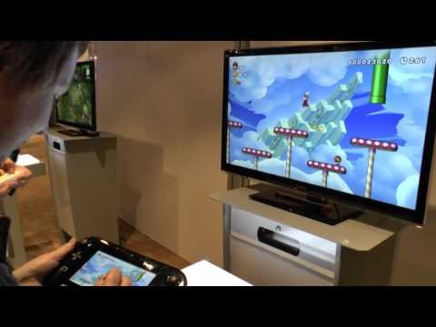 E3 2012 Exclusivo  - New Super Mario Bros. U