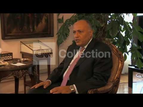 KERRY MEET EGYPTIAN FM FOR CEASE-FIRE ISRAEL HAMAS