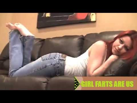 Girl Couch Farts ;) video