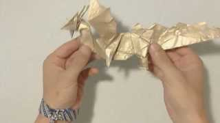 Yakomoga - Origami Dragon By Fernando Gilgado (not Tutorial)