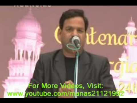 Poetess Rupesh Saxena at Kavi-Sammelan, Medical College Lucknow