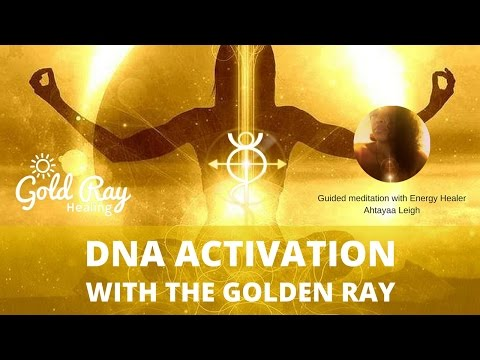 💛 POWERFUL 💛 Golden Light DNA Activation 🌟 with Ahtayaa Leigh