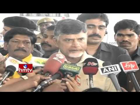AP CM Chandrababu Singapore Tour | Master Plan for AP Capital Development | HMTV