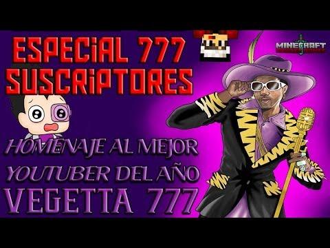 Especial 777 Suscriptores Homenaje al Mejor Youtuber del Año Vegetta777 E.JuegosDelHambre #1