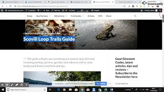 How to Write a Trail Blog Review that Ranks on Page One of Google