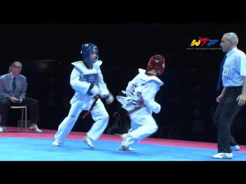 [MALE -33kg] 1ST WTF WORLD CADET TAEKWONDO CHAMPIONSHIPS FINAL Image 1