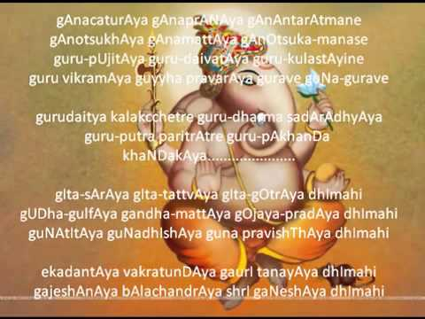 Shree Ganeshaya Dhimahi By Shankar Mahadevan   Youtube video
