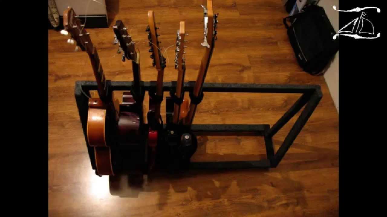 Подставки для гитар своими руками