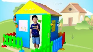 Colorful PlayHouse Video for Kids Toy Coloring Outdoor Playground