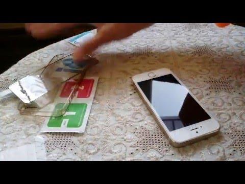 Как ставить стекло на телефон с алиэкспресс