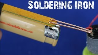 How to make a Soldering Iron Tool