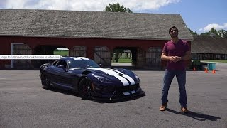 Dodge Viper SRT ACR 2016 - Prueba A Bordo [Full]