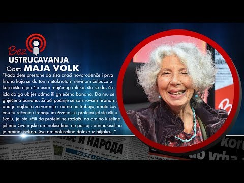 BEZ USTRUČAVANJA - Maja Volk: Žene tokom života unesu oko 200kg otrova putem kozmetike!