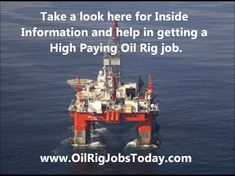 OFFSHORE DRILLING JOBS--Inside Information