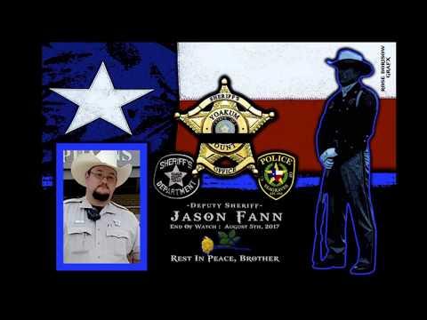 Yoakum County Deputy Sheriff Jason Fann Memorial Yoakum County Deputy Sheriff Jason Fann end of watch August 3, 2017. Rest in peace Brother. Get more details at https://www.lawenforcementtoday.c...