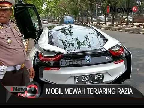 [TERJARING RAZIA] Punya Mobil Mewah Dengan Plat RFS, Tapi Tidak Punya STNK - iNews Pagi 26/10