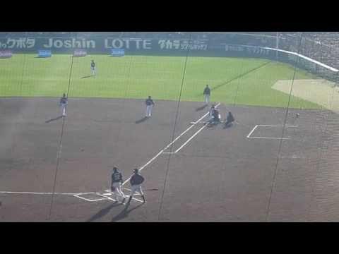 西岡の日本シリーズ守備妨害を今成が再現