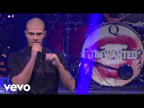 The Wanted - All Time Low (Live @ Letterman, 2013)