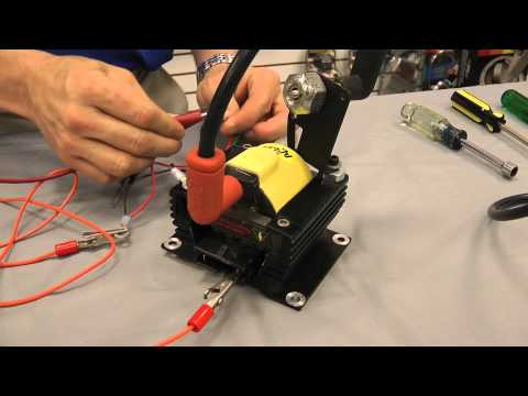 ACCEL E-Core Super Coil - Testing an Ignition Coil for Positive Spark Video