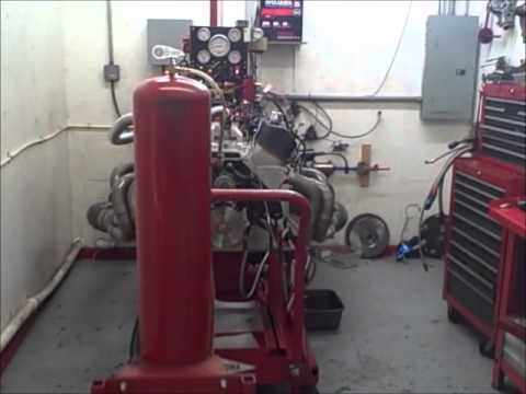 Big Block Chevy FAST Fuel Injected 496 Stroker Dyno Test
