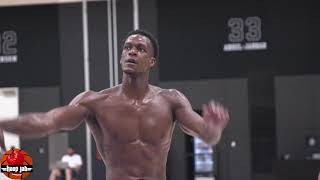 Ripped Rajon Rondo Shooting & Dribbling Workout At Lakers Practice. HoopJab NBA