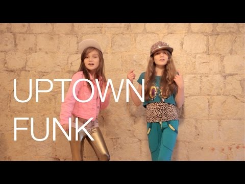 Mark Ronson - Uptown Funk Ft. Bruno Mars Cover By 11 Year Old Sapphire And 9 Year Old Skye video