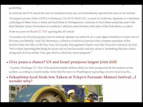 San Francisco Milk Over EPA, Canada Cleanup, Radioactive Housing, Hazardous Debris, Fish, Mini Japan