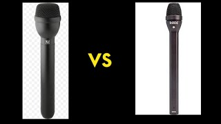 Handheld Microphone Challenge: Rode Reporter vs Electro Voice RE 50B