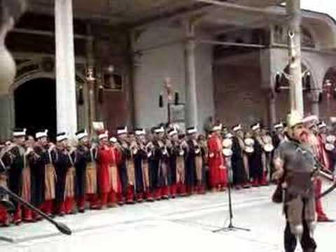 Ottoman Military Band, Topkapi Palace, Istanbul