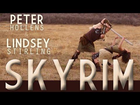 Lindsey Stirling feat. Peter Hollens - Skyrim