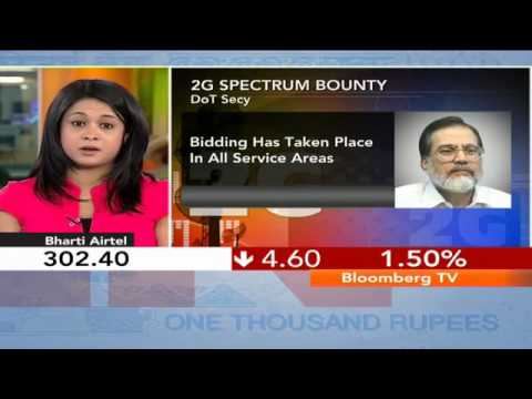 In Business- Spectrum Bids Reach Rs.58,332 Cr ?