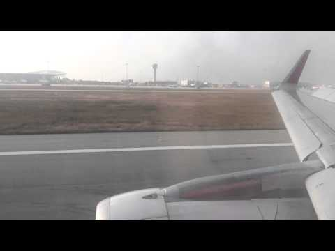 AirAsia India I5 1323 (Airbus A320-200) Landing at Kempegowda International Airport, Bangalore