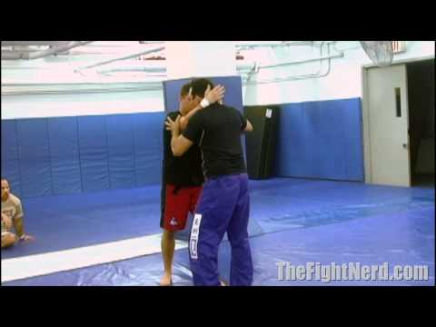 Renzo Gracie's easy clinch takedown Image 1