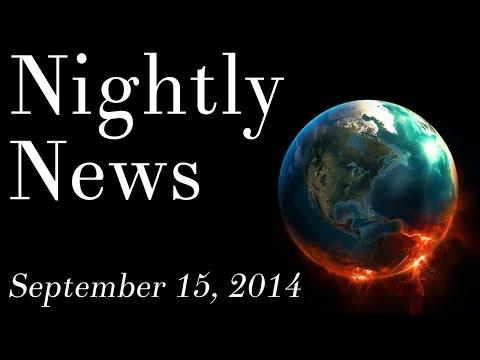 World News - September 15, 2014 - Iraq & Syria war news, Ebola in Africa news, political news