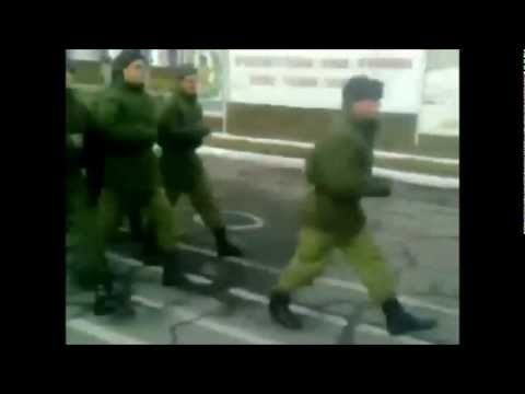 Russian Army Marches To Spongebob Squarepants Theme Song video