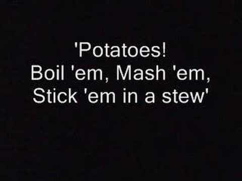 Song Lotr 'potatoes!' Lotr Song