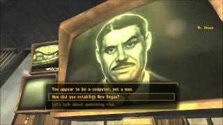 Fallout: New Vegas meeting Mr Robert Edwin House