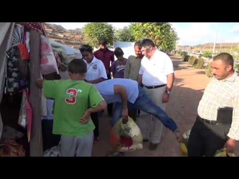 Norooz Foundations Delivers Aid to Yazidis Refugees in Iraq pt9