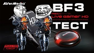 Avermedia Live Gamer HD | QUALITY TEST | PC | Battlefield 3 | 1080p