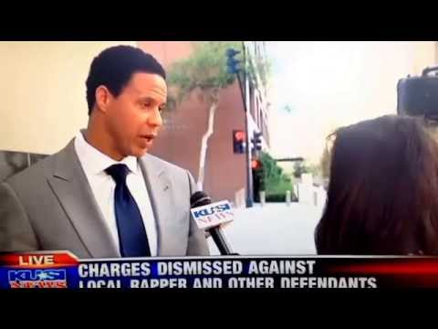 Brian Watkins interviews after all charges against his client, Brandon Duncan were dismissed