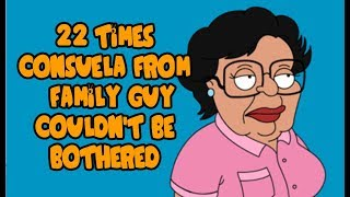 22 Times Consuela Couldn't Be Bothered
