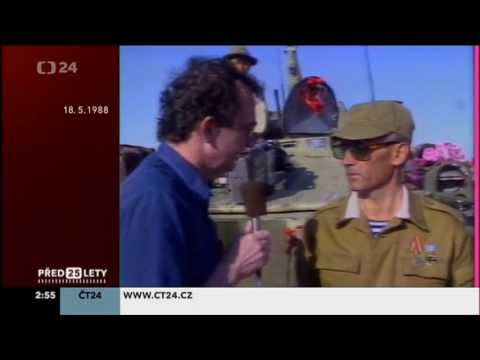 Soviet army leaves Afghanistan Czechoslovak TV 1988 II