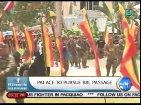 Lacierda: We will continue to fight for the Bangsamoro Basic Law    Feb. 23, 2015