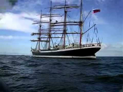 Christian Radich Tall Ship's Race 2009 Part 1.mov