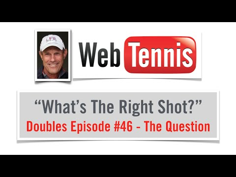 Tennis Doubles Strategy -