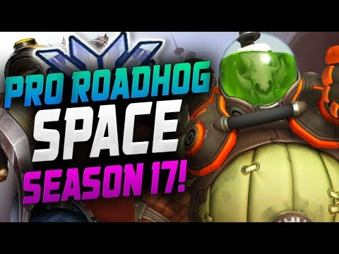 LA VALIANT SPACE PRO ROADHOG! [ OVERWATCH SEASON 17 TOP 500 ]