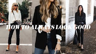 ALWAYS LOOK GOOD: Styling Tips that Will Transform how you get dressed | Mademoiselle